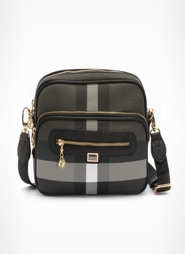 Silver Polo Messenger / Askılı Çanta Siyah